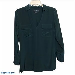 GUESS by MARCIANO 100% Silk Blouse Top
